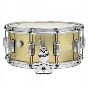 Rogers DynaSonic 7 line 14×6.5 Natural Brass Shell Snare