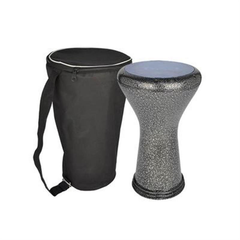 Gawharet El Fan  cast aluminum goblet drum