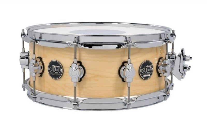 Drum Workshop Snare Drum Performance Lacquer Natural