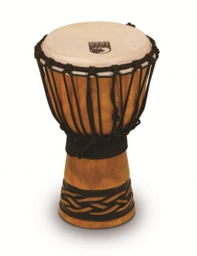 Djembe Origins Series African Mask, Toca TODJ-7AM