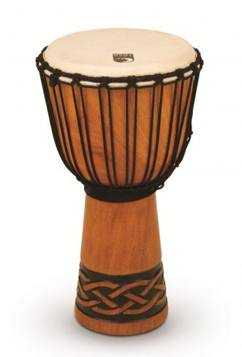 Djembe Origins Series Tribal Mask, Toca TODJ-10TM