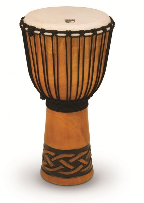 Djembe Origins Series African Mask, Toca TODJ-12AM