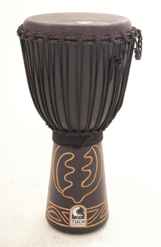 "Djembe Black Mamba 12"", Height: 24"" (61 cm), Toca ABMD-12"