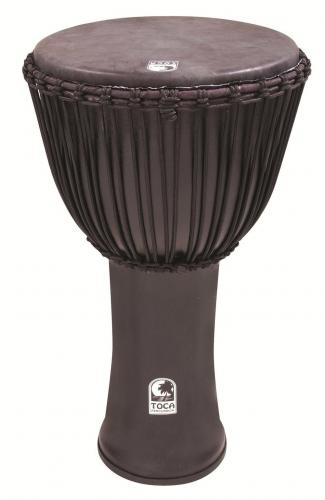 Djembe Freestyle Rope Tuned Kente Cloth with Bag, Toca SFDJ-14K