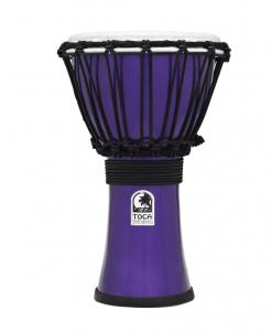 Djembe Freestyle Colorsound Metallic Blue, Toca TFCDJ-7MB
