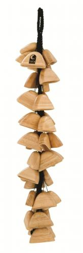 Sound effects Wooden pod rattle on string , Toca T-WRS