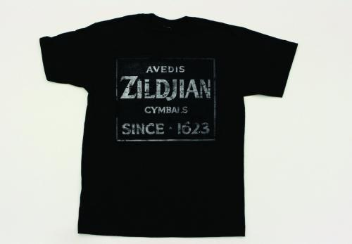 Zildjian T4673 Vintage Sign T-Shirt - Large