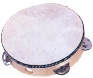 Mano Percussion MP-T68H Tambourine w/ head
