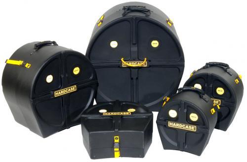 Hardcase Rock Fusion 3 Drum Case Kit
