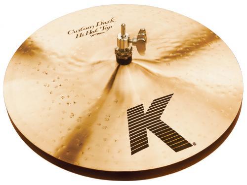 """Zildjian 14"""" K Custom Dark Hihat"""