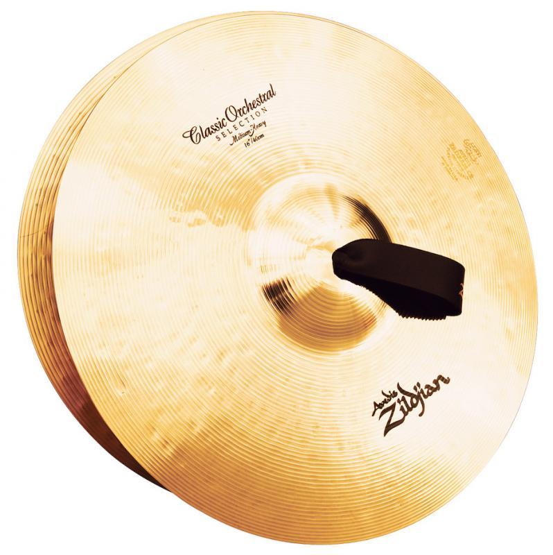 "Zildjian 16"" Classic Orchestral Selection Medium Heavy Pair"