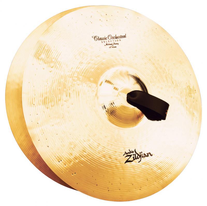 "Zildjian 18"" Classic Orchestral Selection Medium Heavy Pair"