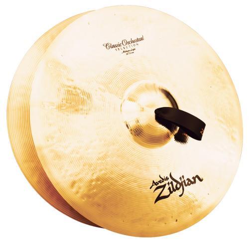 "Zildjian 20"" Classic Orchestral Selection Medium Light Pair"