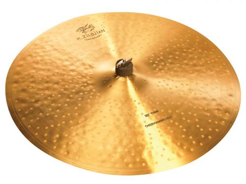 "Zildjian 22"" K Constantinople Thin Over Hammered Ride"