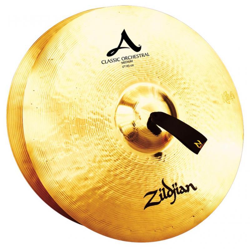 "Zildjian 17"" Classic Orchestral Selection Medium Pair"