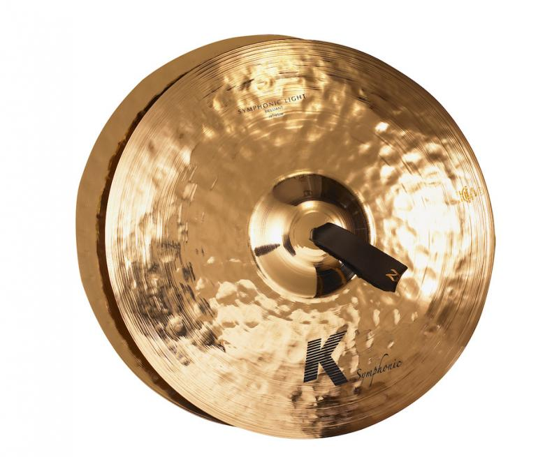 "Zildjian 18"" K Symphonic Light (Brilliant) Pair"
