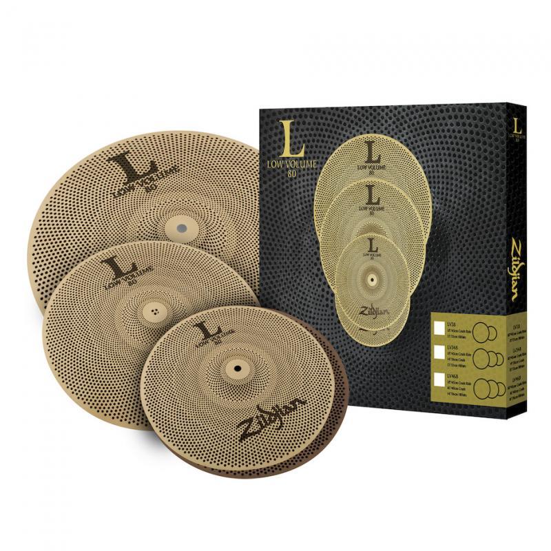 Zildjian LV348 Low Volume Cymbal Pack