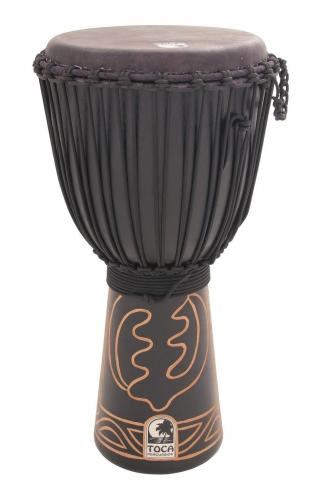 "Djembe Black Mamba 12"", Height: 24"" (61 cm), Toca ABMD-12"