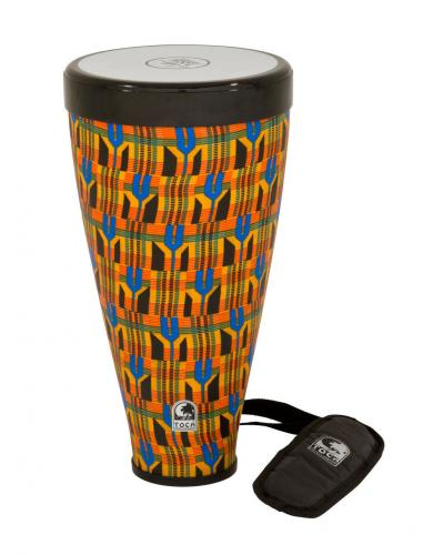 Frame drum Flex Drum Kente Cloth, Toca TFLEX-JRK