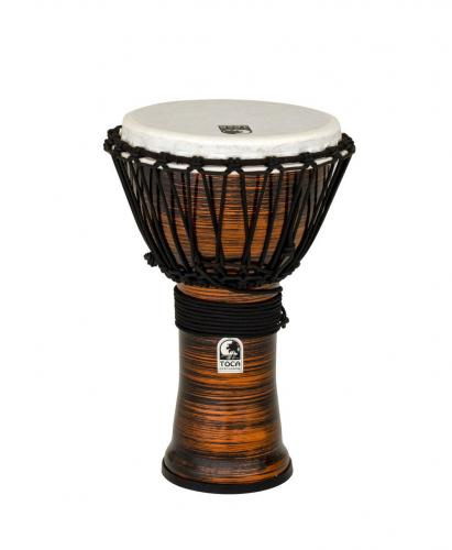 Djembe Freestyle II Rope Tuned Spun Copper, Toca TF2DJ-9SCB