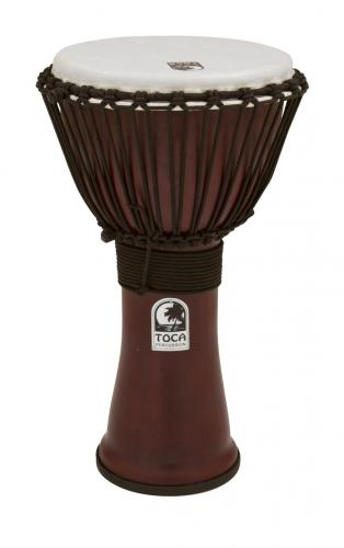 Djembe Freestyle II Rope Tuned Dark Red, Toca TF2DJ-10R