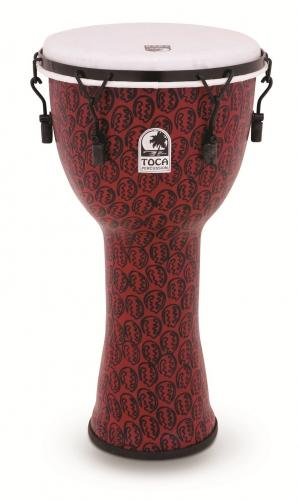 Djembe Freestyle II Mechanically Tuned Red Mask, Toca TF2DM-10RM