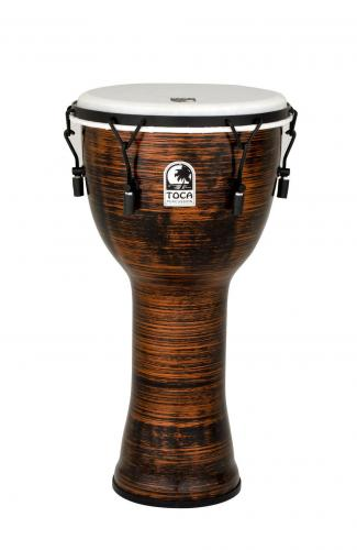 Djembe Freestyle II Mechanically Tuned Spun Copper, Toca TF2DM-12SC