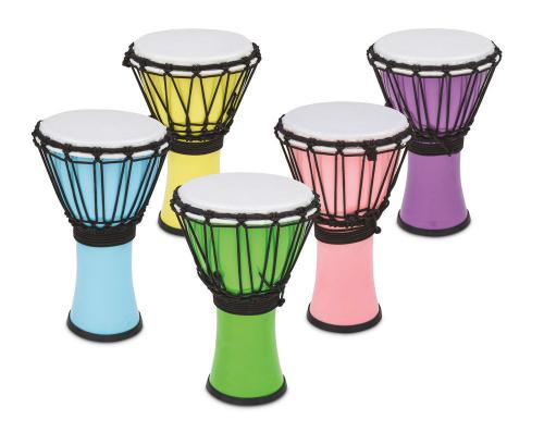 Djembe Freestyle Colorsound Pastel Pastel Yellow, Toca TFCDJ-7PY