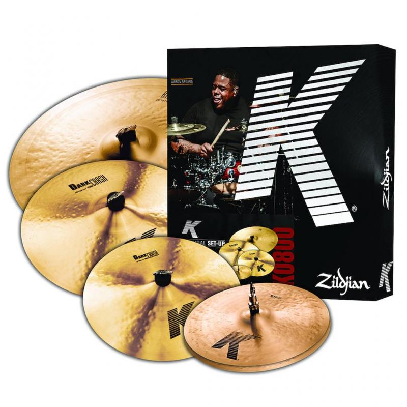 Zildjian K800 K Promo Pack