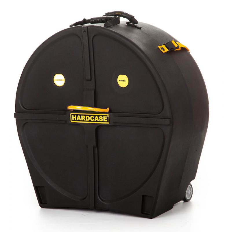 """Hardcase 24"""" Marching Bass Drum Case"""