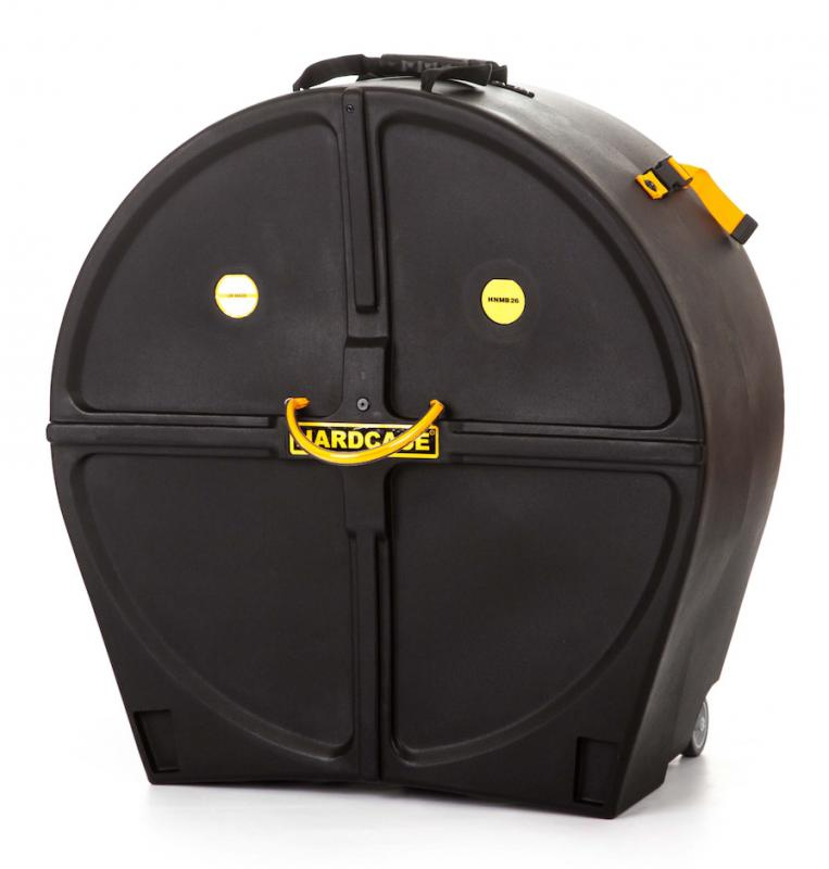 """Hardcase 26"""" Marching Bass Drum Case"""