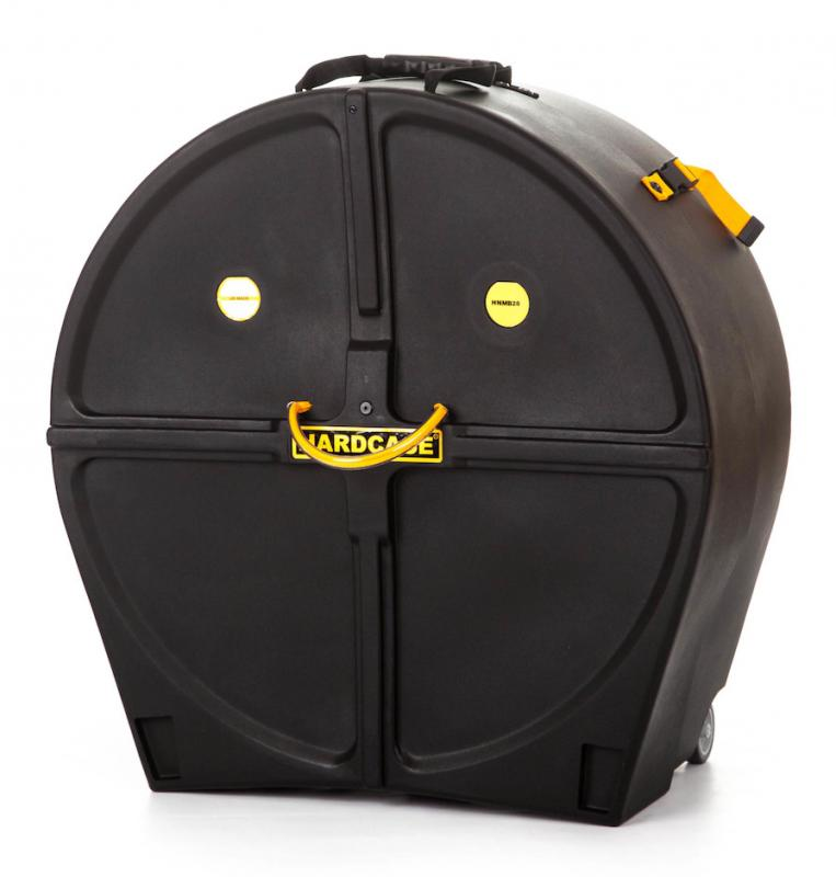 """Hardcase 28"""" Marching Bass Drum Case"""