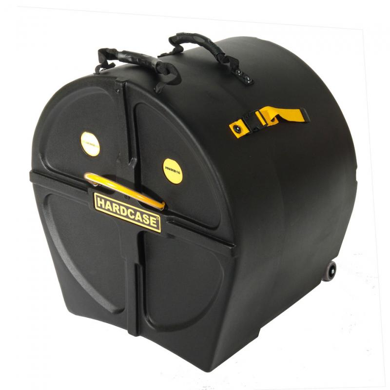 """Hardcase 16"""" Marching Bass Drum Case"""