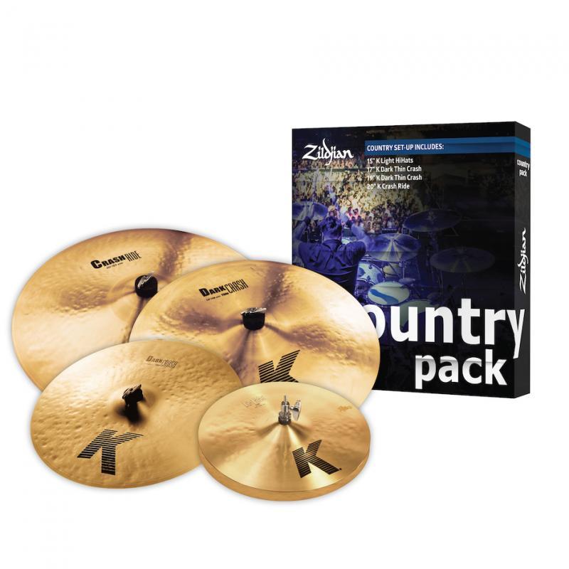 Zildjian K0801C Country Pack