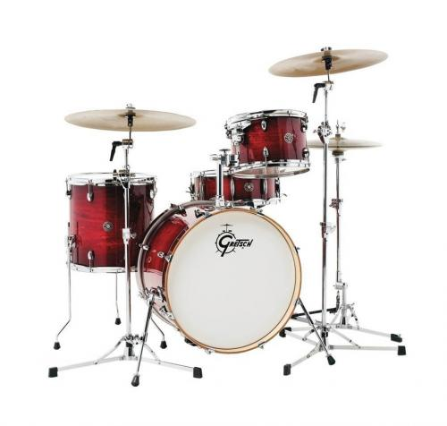 Gretsch shell set Catalina Club, Gloss Crimson Burst