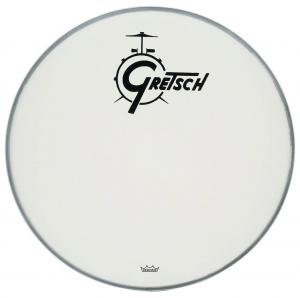 Gretsch Bassdrum head Ambassador white coated, 18""