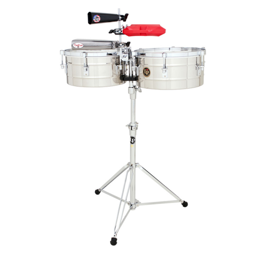 Timbals Tito Puente Stainless Steel, LP257-S