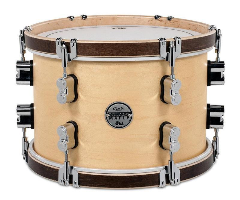 PDP by DW Tom Tom Concept Classic Ox Blood Stain /Ebony Hoop