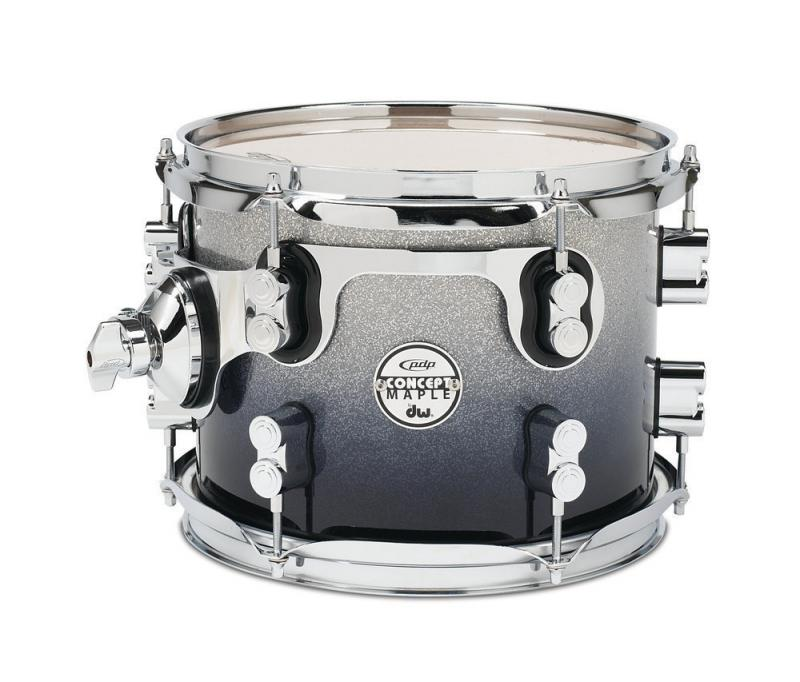PDP Concept Maple, Hängpuka - Silver to Black Sparkle