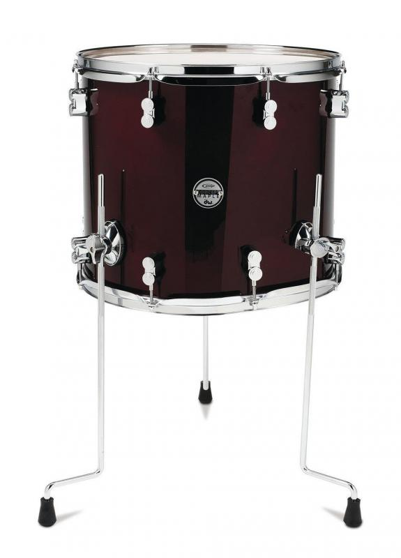 PDP by DW Floor Tom Concept Maple Cherry Stain