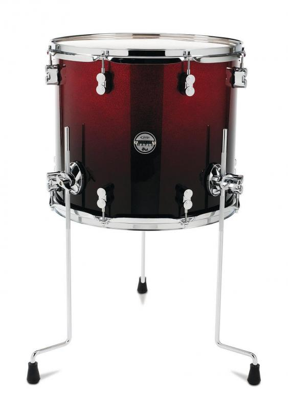 PDP by DW Floor Tom Concept Maple Satin Tobacco Burst