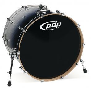 PDP Concept Maple, Bastrumma - Silver to Black Sparkle