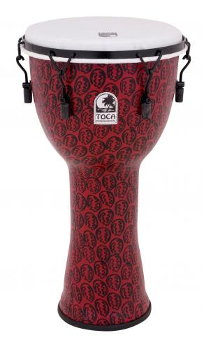 Djembe Freestyle II Mechanically Tuned Red Mask, Toca TF2DM-12RM