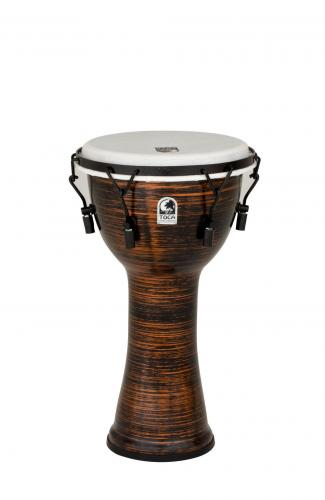 Djembe Freestyle II Mechanically Tuned Spun Copper, Toca TF2DM-10SC
