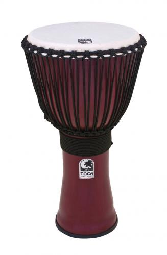 Djembe Freestyle II Rope Tuned Dark Red, Toca TF2DJ-14RB