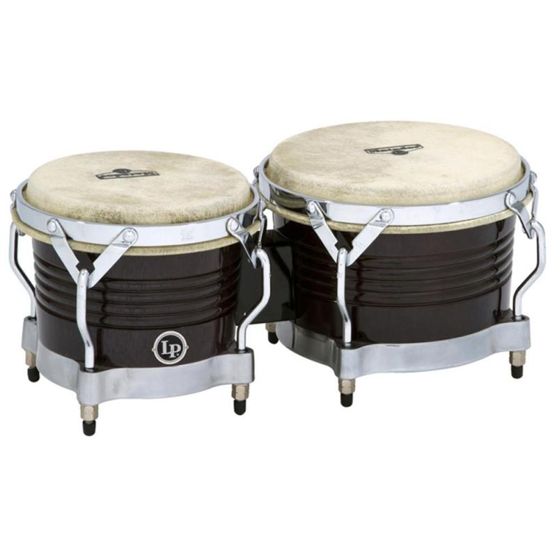 Latin Percussion Bongo Matador Wood Black, M201-BKWC