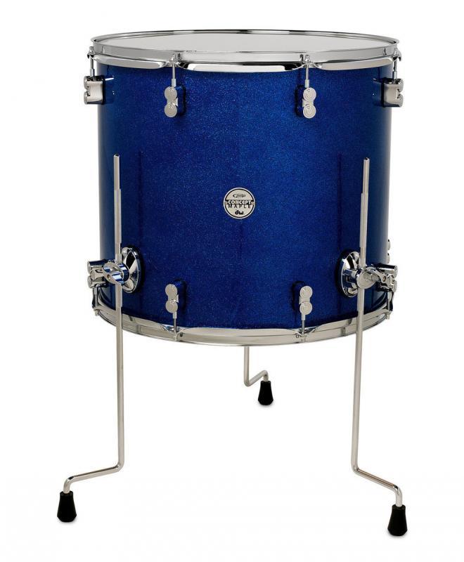 PDP Concept Maple, Golvpuka - Blue Sparkle