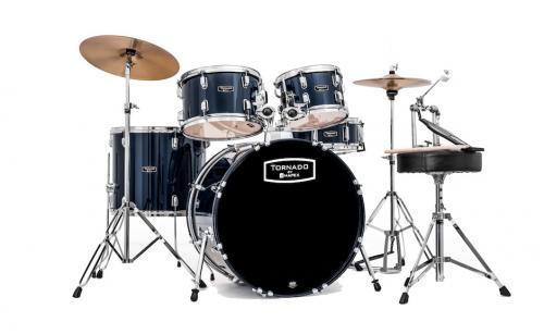 Mapex Tornado Fusion 5-trummors set - Blå