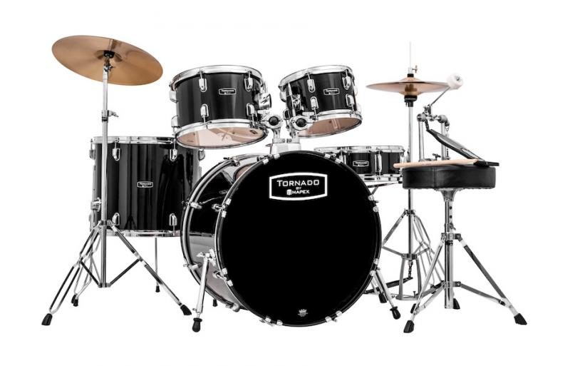 Mapex Tornado Fusion 5-trummors set - Svart
