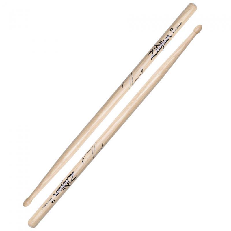 Zildjian 5B Hickory Drumsticks Wood Tip